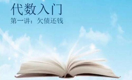 趣味数学孙路弘初一数学课程代数(完结)(1.12G标清视频)百度网盘