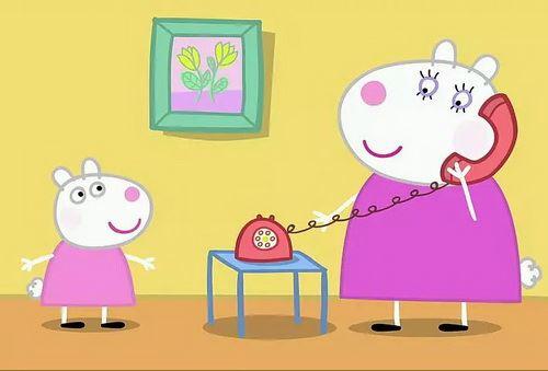 《小猪佩奇》粉红猪小妹英文版–第1-4季209集-MP4格式