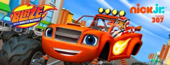 Blaze and the Monster Machines 旋风战车 百度网盘