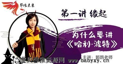 华语未来名师带你读名著《哈利波特》导读课(完结)(1.63G高清视频)百度网盘
