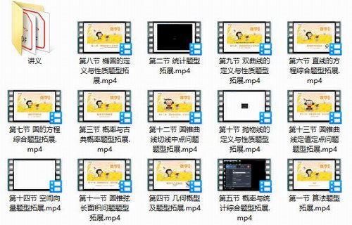 高二猿辅导秋季班理科韩乾数学(高清视频)百度网盘