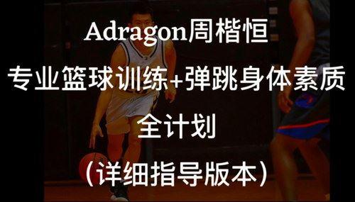 周楷恒Adragon篮球弹跳(超清视频)百度网盘