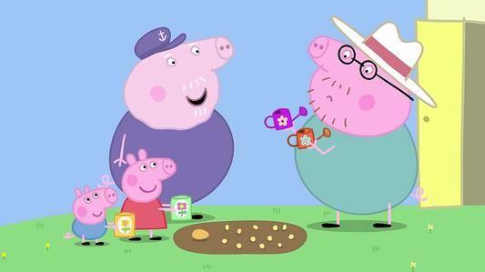 《小猪佩奇》粉红猪小妹英文版第五季 内嵌英文字幕百度网盘下载