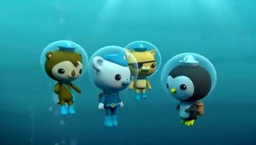 《海底小纵队》中文版1-4季音频mp3全125集下载