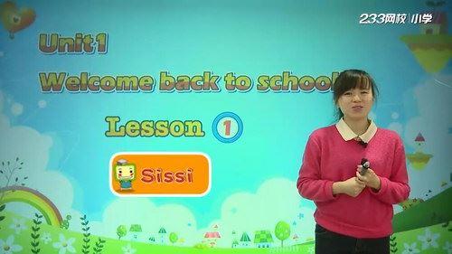 233网校小学三年级英语下册(谢珑茜44讲)(高清视频)百度网盘