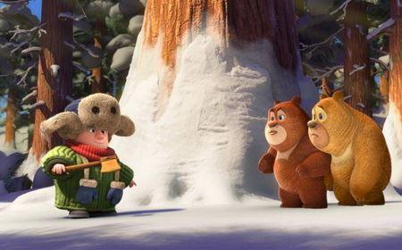 《熊出没之雪岭熊风》 电影版 高清1080版 2015年