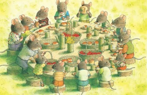 幼儿睡前故事《14只老鼠种南瓜》MP3免费打包下载 4集