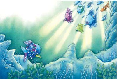 儿童睡前故事《我是彩虹鱼》5集MP3音频 百度网盘