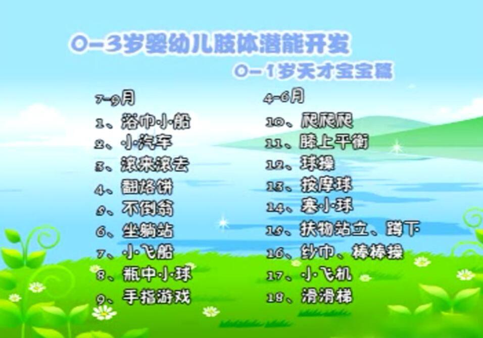0-3岁早教中心互动游戏(96个720×480视频)百度网盘
