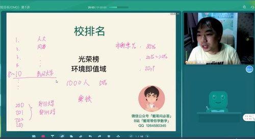 2021朱昊鲲高考数学暑假班(完结)(高清视频)百度网盘