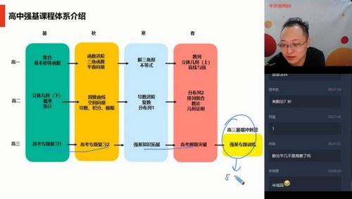 2020秋季高二李昊伟数学秋季目标强基计划直播班(5星完结)(10.3G高清视频)百度网盘