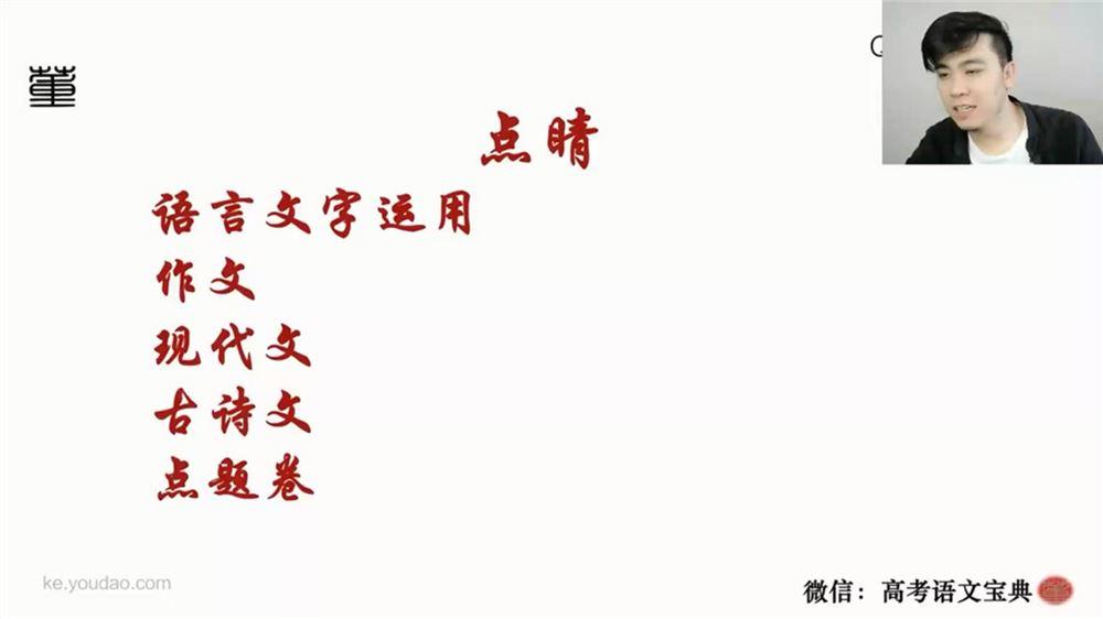 2021高考语文董腾押题课 (冲刺班)(高清视频)百度网盘