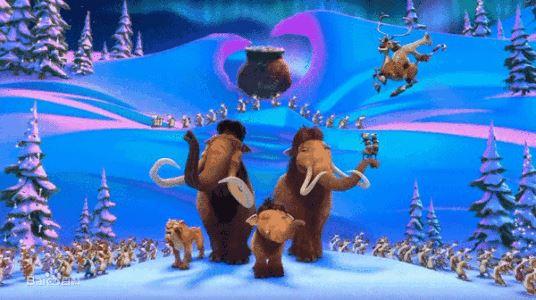冰河世纪电视特别版 冰河世纪:猛犸圣诞节