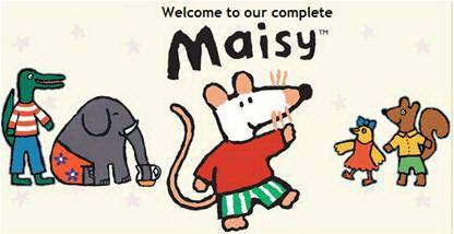 小鼠波波 Maisy Mouse 全106集动画+音频 百度网盘下载