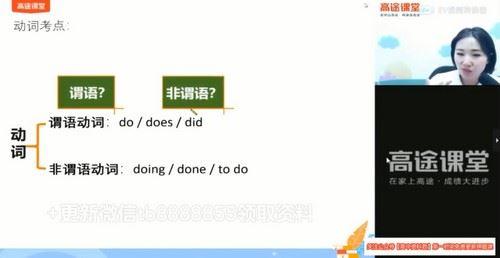 2021高考英语王煜嘉押题课(点睛班)(高清视频)百度网盘