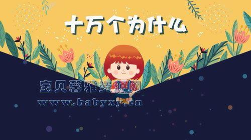 芝麻学社十万个为什么儿童版1(3-8岁)(完结)(高清视频)百度网盘