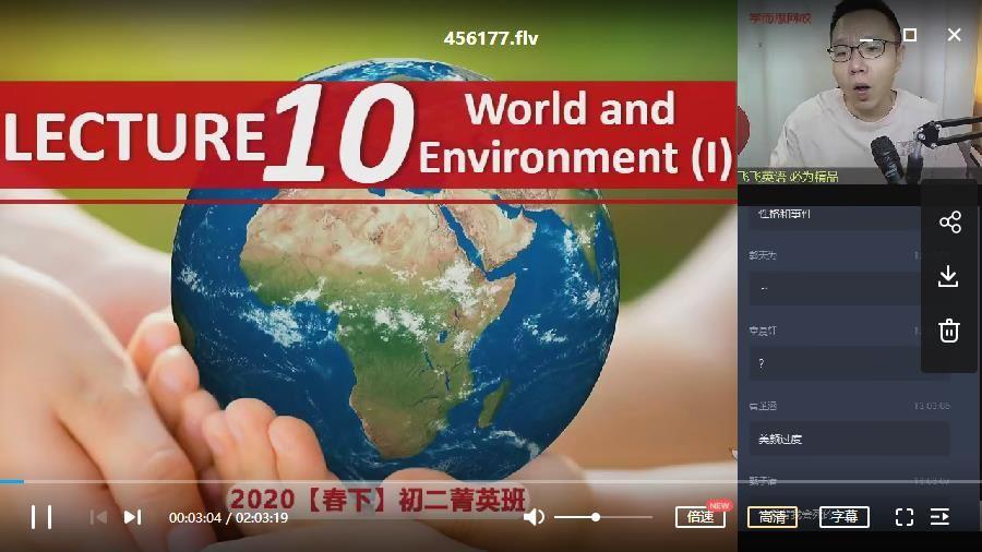 2020【春】初二英语 学而思菁英班刘飞飞