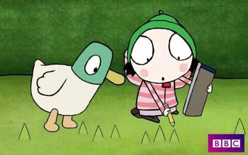 BBC莎拉和小鸭子 Sarah and duck 百度网盘