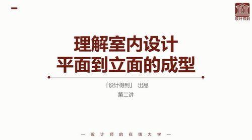 赵彬室内立面设计系统解析(高清视频)