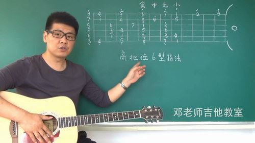 吉他民谣初级吉他入门教学教程零基础弹唱指弹讲解学习(720×416视频)百度网盘