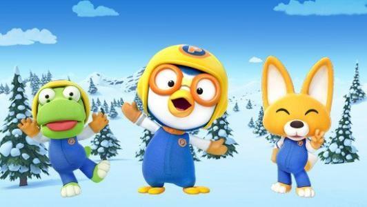 小企鹅波鲁鲁Pororo 全两季原版美音动画片 百度网盘