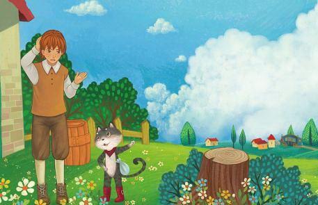 世界著名童话故事《穿靴子的猫》MP3免费打包下载 9集