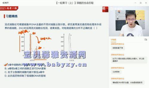2021高考张鹏生物暑期清北班(高清视频)百度网盘