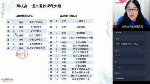 学而思2020暑期高一高一郑会英语文核心方法直播班(完结)(2.42G高清视频)百度网盘