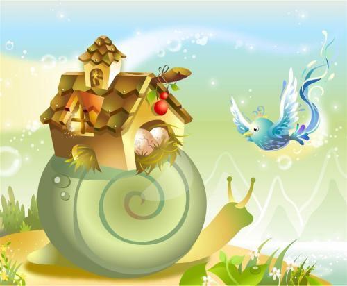 杨红樱儿童故事《背着房子的蜗牛》MP3打包下载 8集
