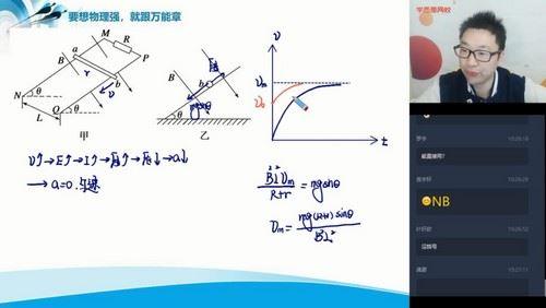 学而思2020春季高二章进物理目标985(完结)(5.80G高清视频)百度网盘
