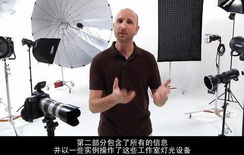 国外补光经典教程 摄影补光(中文字幕高清视频打包)百度网盘