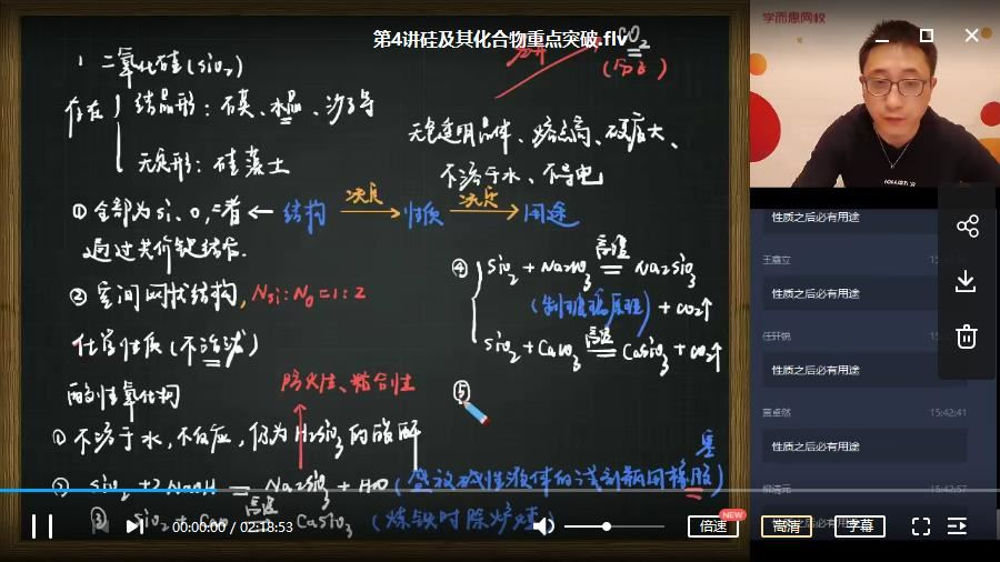 【2020春季目标985班】高一化学 学而思班(课改)李炜
