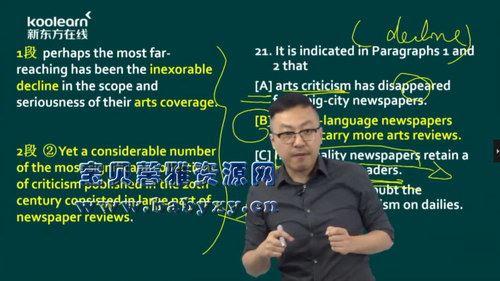 考上的逻辑2021考研英语真题阅读(31.7G高清视频)百度网盘