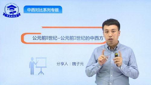 学魁榜2020历史衔接课专题课(魏子元)(超清视频)百度网盘