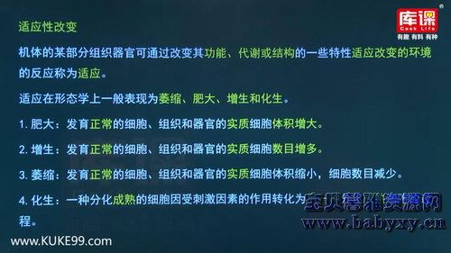库课2019年河南专升本生理学病理学冲刺串讲(9.70G高清视频)百度网盘