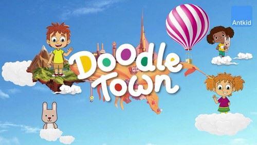 芝麻学社Doodle Town国际少儿英语(高清视频)百度网盘
