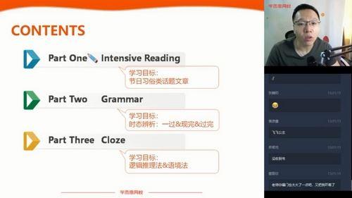 学而思2020春季初二刘飞飞英语菁英班(完结)(5.73G高清视频)百度网盘