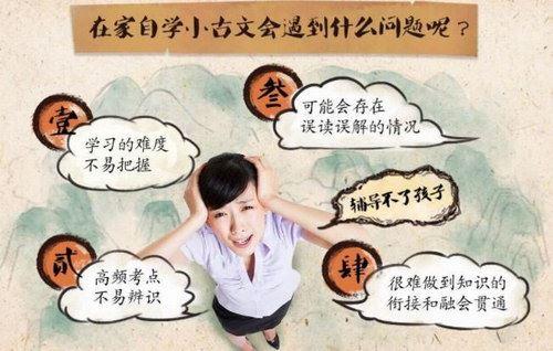 沪江大语文爱上小古文3-9年级(共80课)(高清视频)百度网盘