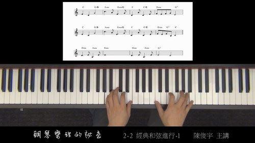 钢琴乐理的秘密-钢琴启蒙教程(16.35G)百度网盘