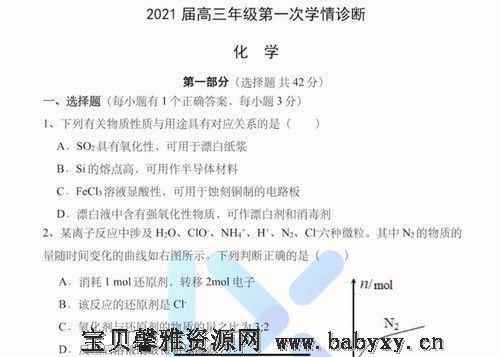 2021化学李政学情诊断(597M高清视频)百度网盘