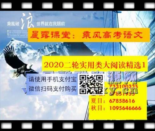 2021乘风高考语文二轮重难点强化训练(21.8G高清视频)百度网盘