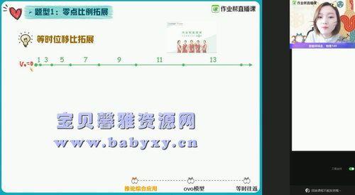 2021作业帮高三胡婷物理寒假班(双一流)(高清视频)百度网盘