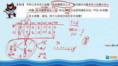 91好课四年级数学小学奥数导引超越篇视频课程23讲(部分视频压缩)百度网盘