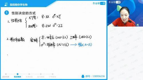 作业帮生物段瑞莹(段段)985班 (28节)(高清视频)百度网盘