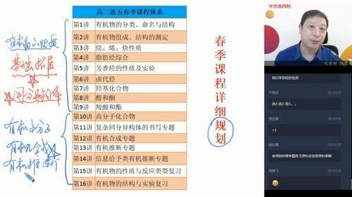 学而思2020春季高二贾世增化学985班(完结)(6.56G高清视频)百度网盘