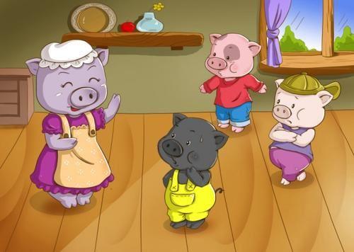 儿童睡前故事《三只小猪》MP3打包下载 13集