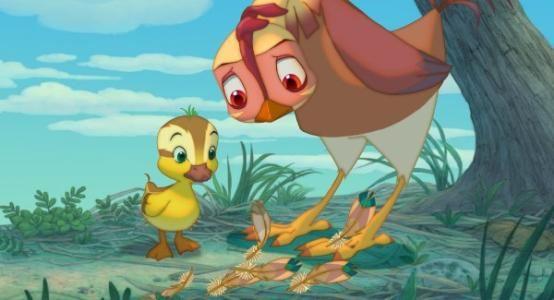 鸡妈鸭仔 叶芽 走出院子的母鸡 迅雷下载