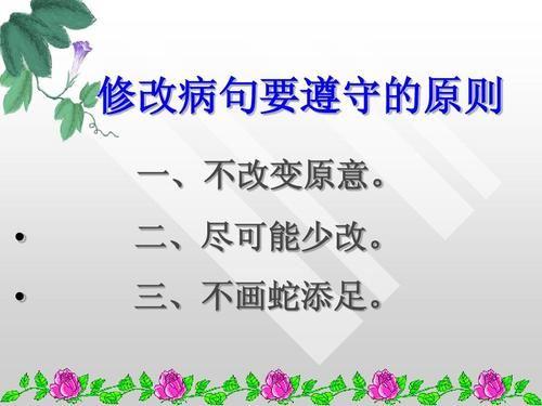 小升初语文修改病句专题 百度网盘