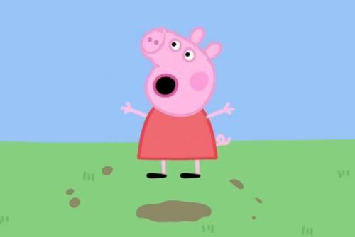 小猪佩奇 粉红猪小妹台湾版第一季全64集 台湾发音英文字幕